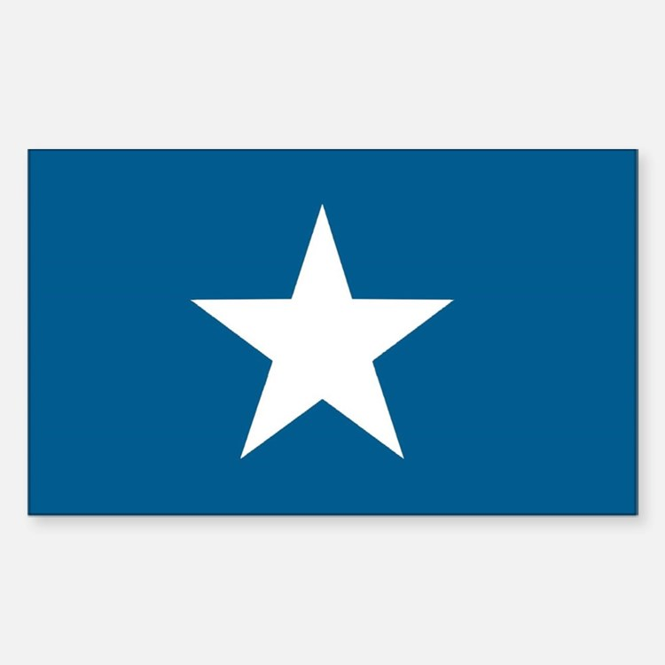 Bonnie Blue Rectangle Decal