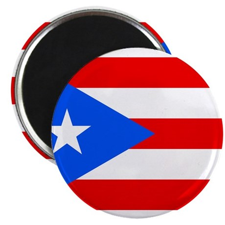 "Puerto Rico Flag 2.25"" Magnet (10 pack)"