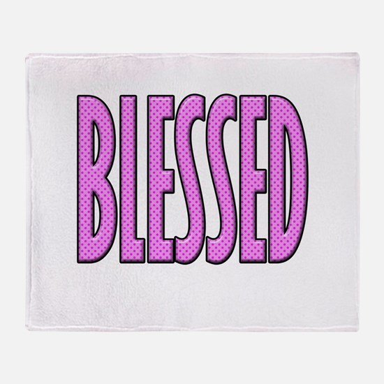 Blessed Throw Blanket