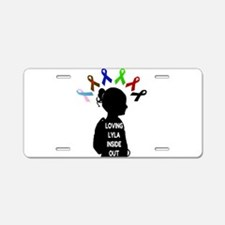 Loving Lyla Inside Out 1 Aluminum License Plate