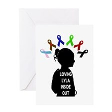 Loving Lyla Inside Out 1 Greeting Card