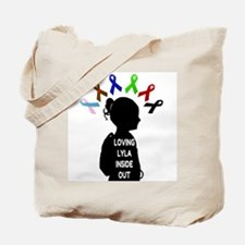 Loving Lyla Inside Out 1 Tote Bag