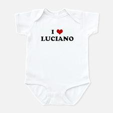 I Love LUCIANO Infant Bodysuit