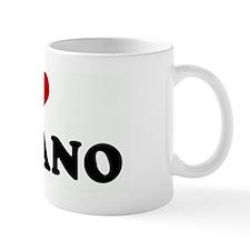 I Love LUCIANO Mug