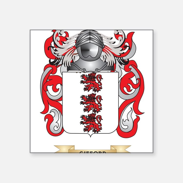 Gifford Coat of Arms (Family Crest) Sticker