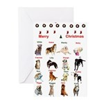 CanineCancerAwareness Greeting Cards (Package of