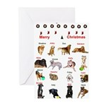 CanineCancerAwareness Christmas Cards (Package of