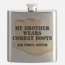 AF Sister Bro wears DCB Flask