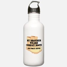 AF Sister Bro wears DCB Water Bottle