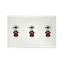 I love my Pet Rectangle Magnet (100 pack)