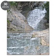 Natural Bridge Waterfalls, Virginia Puzzle