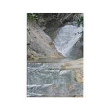 Natural Bridge Waterfalls, Virgin Rectangle Magnet