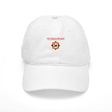 Firefighter Hero-Uncle Baseball Cap