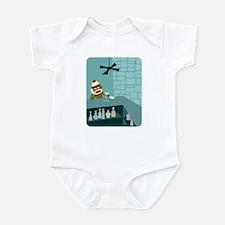 Sock Monkey Martini Bar Infant Bodysuit