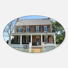 Appomattox Courthouse Historical Si Decal