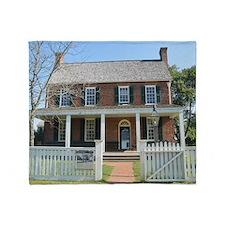 Appomattox Courthouse Historical Sit Throw Blanket
