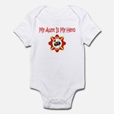 Firefighter Hero-Aunt Infant Bodysuit