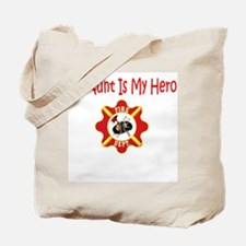 Firefighter Hero-Aunt Tote Bag