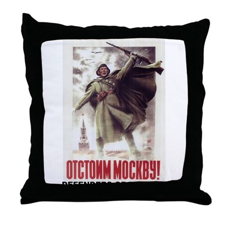 DEFENDERS OF MOSCOW Throw Pillow