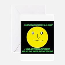 asperger smile Greeting Card