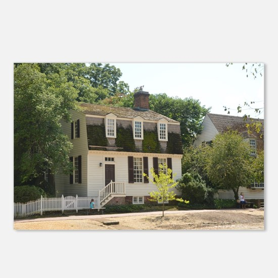 Colonial Williamsburg His Postcards (Package of 8)