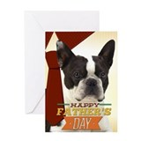 Boston terriers Greeting Cards