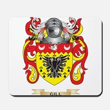 Gill-England Coat of Arms (Family Crest) Mousepad