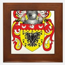 Gill-England Coat of Arms (Family Crest) Framed Ti