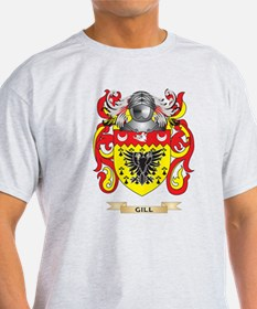 Gill-England Coat of Arms (Family Crest) T-Shirt
