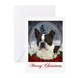 Boston terriers Greeting Cards (20 Pack)