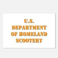 Homeland Scootery Postcards (Package of 8)