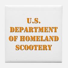 Homeland Scootery Tile Coaster