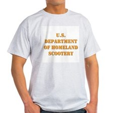 Homeland Scootery Ash Grey T-Shirt