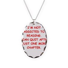 BOOKS3 Necklace