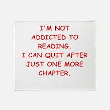 BOOKS3 Throw Blanket