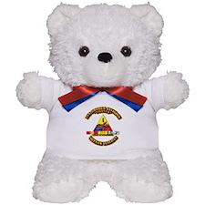 1st Armor Div w SVC Ribbons Teddy Bear