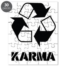 Karma - what goes around comes around funny Puzzle