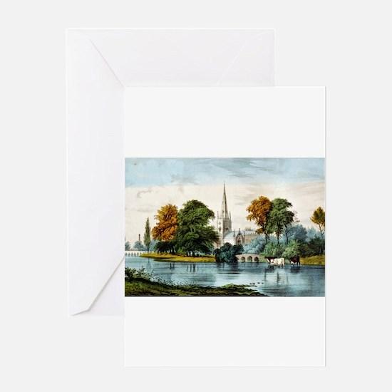 Stratford on Avon - 1907 Greeting Card