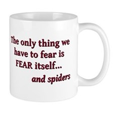 Fear And Spiders Small Mugs
