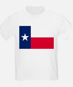 Texas Flag Kids T-Shirt