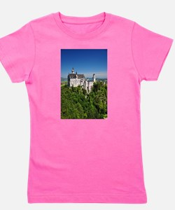 Neuschwanstein Castle Vertical.JPG Girl's Tee