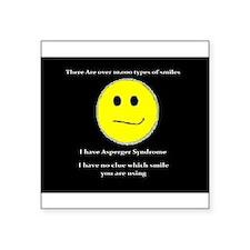 aspie smile Sticker