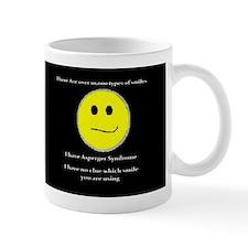 aspie smile Mug