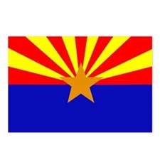 Arizona Flag Postcards (Package of 8)