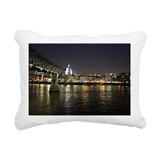 St. Pauls Cathedral Lond Rectangular Canvas Pillow