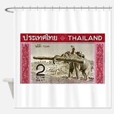 1968 Thailand Working Elephant Postage Stamp Showe