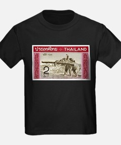 1968 Thailand Working Elephant Postage Stamp T-Shi