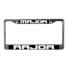 Major Rajor License Plate Frame