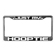 Just My Hooptie License Plate Frame