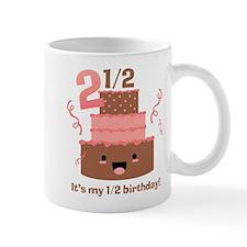 Kawaii Cake 2 1/2 Birthday Mug
